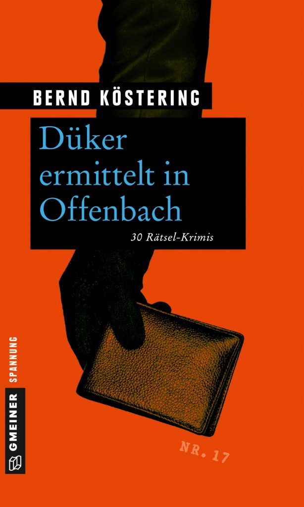 Buchcover Düker ermittelt in Offenbach, Bernd Köstering
