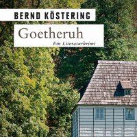Buchcover Goetheruh, Ausschnitt, Bernd Köstering